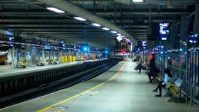 Blackfriars station in London - LONDON, ENGLAND - DECEMBER 11, 2019