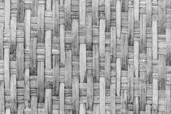 Blackground de madeira do branco do weave Imagens de Stock