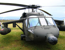 Blackhawk. Helicopter Royalty Free Stock Photography