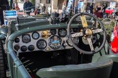 Blackhawk bil- och kaffeCar Show i Danville Arkivfoton