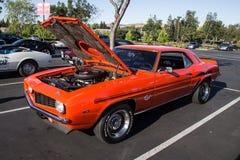 Blackhawk bilar och kaffe Juli 6th 2014 Arkivfoto