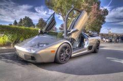 Blackhawk Car show Danville Lamborghini in HDR Royalty Free Stock Images