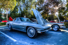 Blackhawk Cars and Coffee Danville Ca Royalty Free Stock Image