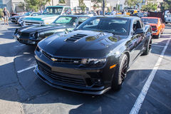 Blackhawk Cars and coffee July  6th 2014 Royalty Free Stock Photos