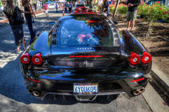 Blackhawk Cars and coffee July  6th 2014 Stock Photo