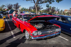 Blackhawk Cars and coffee July  6th 2014 Royalty Free Stock Image