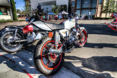 Blackhawk Cars and coffee July  6th 2014 Royalty Free Stock Images