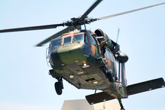 Blackhawk Chopper Royalty Free Stock Photos