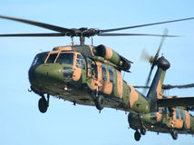 Blackhawk Choppers stock image