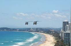 Blackhawk Choppers Gold Coast Stock Photo
