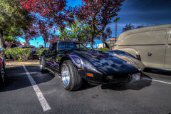 Blackhawk coffee and cars April 6th 014 Royalty Free Stock Images