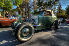 Blackhawk coffee and cars April 6th 014 Royalty Free Stock Photos