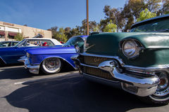 Blackhawk coffee and cars April 6th 014 Royalty Free Stock Photo
