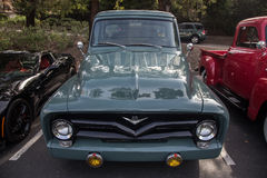 Blackhawk coffee and cars May 4 2014 Stock Photography