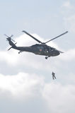 Blackhawk helicopter Stock Photos