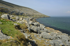 Blackhead, The Burren Stock Photo