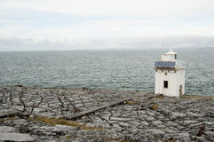 Blackhead Lighthouse in the Burren, Co.Clare - Ireland Stock Photo