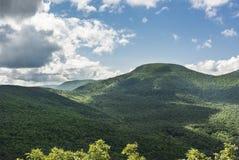 Blackhead Peak in the Catskill Mountains. Blackhead Peak on the eastern end of the Blackhead Range of the Catskill Mountains of New York State stock photo