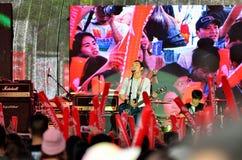 Blackhead show on Channel [v] Thaialnd anniversary Stock Photo