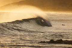Blackhead-Strand, NZ Lizenzfreies Stockbild