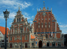 Blackheads House - Riga Royalty Free Stock Photos