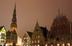 Blackheads in Riga Royalty Free Stock Images