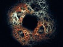 Blackhole abstrait Images libres de droits