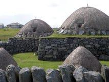 Blackhouse, Arnol, νησί του Lewis Στοκ Εικόνες