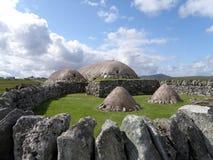 Blackhouse, Arnol, ilha de Lewis Imagens de Stock