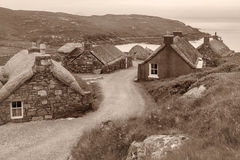 Blackhouses on Lewis Royalty Free Stock Photography