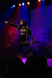 Blackie Lawless. Frontman of the Legendary band W.A.S.P. performing live on their latest world tour - Beast Of Babylon Stock Images