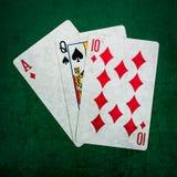 Blackjack είκοσι ένα 3 - τετράγωνο Στοκ Εικόνες