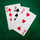 Blackjack είκοσι ένα 10 - τετράγωνο Στοκ εικόνα με δικαίωμα ελεύθερης χρήσης