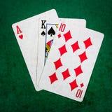 Blackjack είκοσι ένα 2 - τετράγωνο Στοκ Εικόνες