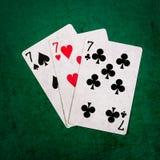 Blackjack είκοσι ένα 12 - τετράγωνο Στοκ εικόνα με δικαίωμα ελεύθερης χρήσης