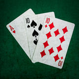 Blackjack είκοσι ένα 4 - τετράγωνο Στοκ φωτογραφίες με δικαίωμα ελεύθερης χρήσης