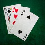 Blackjack είκοσι ένα 5 - τετράγωνο Στοκ Εικόνες