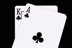 blackjack φτυάρια Στοκ Εικόνα