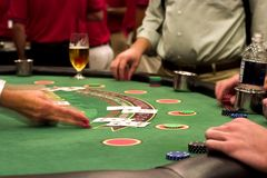 Blackjack Royalty Free Stock Photography