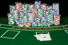blackjack Στοκ Φωτογραφία