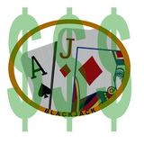 Blackjack Royalty Free Stock Image