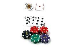 blackjack 21 obraz stock