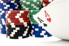 Blackjack Fotos de Stock Royalty Free