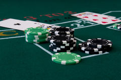Blackjack 4 Stock Photos