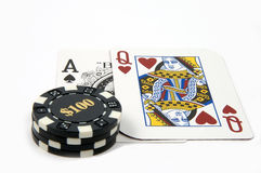 Blackjack 4 Royalty Free Stock Images