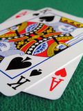 Blackjack! fotografia de stock