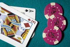 blackjack Zdjęcia Royalty Free