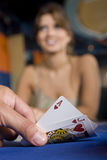 Blackjack cards Stock Photos