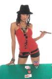 blackjack gracz sexy zdjęcia royalty free