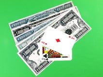 Blackjack winner Stock Photos